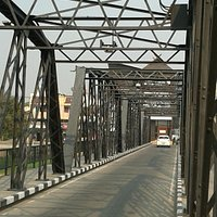Iron Bridge over the Mae Ping River in Chiang Mai
