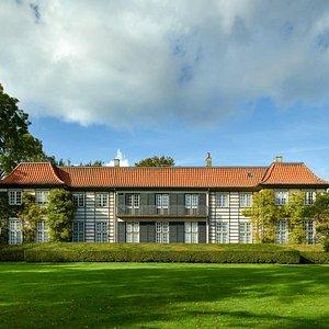 Ordrupgaard blev opført i 1918 som herskabsvilla