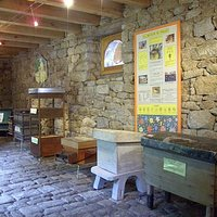 Salle d'exposition ruches