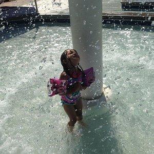 The kids pool