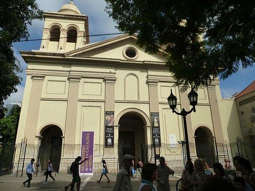 Fachada Iglesia Santa Catalina