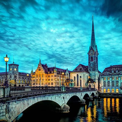 Zurich night photography course – April 2014
