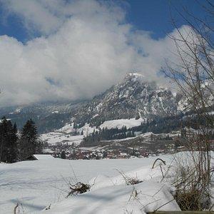 Blick auf Bad Oberdorf