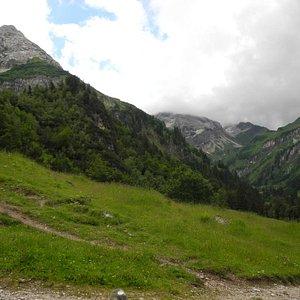 Blick von der Alpe