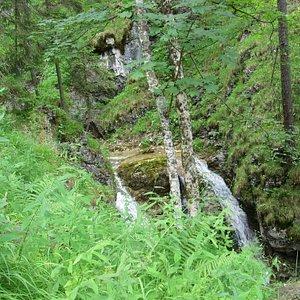 Wasserfall weiter oben