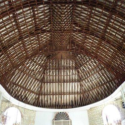 Ceiling, St Peter's Church, Parham, Antigua