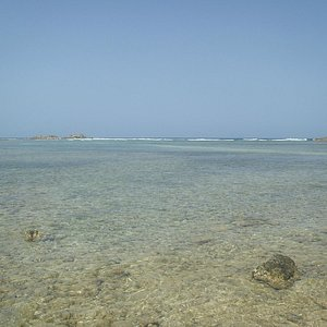 shallow calm water perfect for children