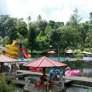 Small Waterpark Inside The Area