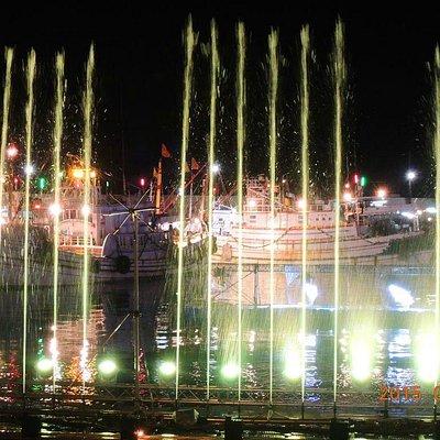 西嶼-外垵元宵漁火 水舞