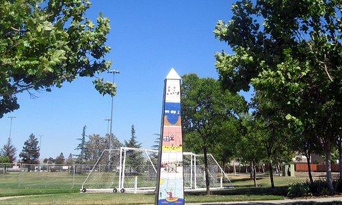 Soccer Field Area, Robertson Park, Livermore, Ca