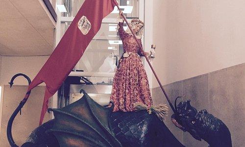 Santa Marta contra el Dragón Fiestas del Corpus de Zamora