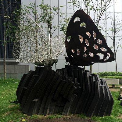 Sculpture at Tamar Park