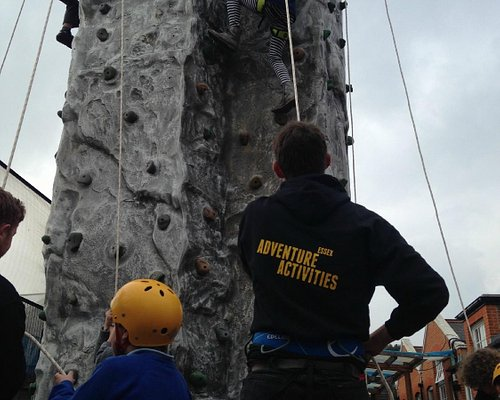 Our mobile climbing wall