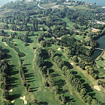 Foto Aerea del Circolo Golf Venezia