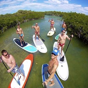Paddleboard with friends