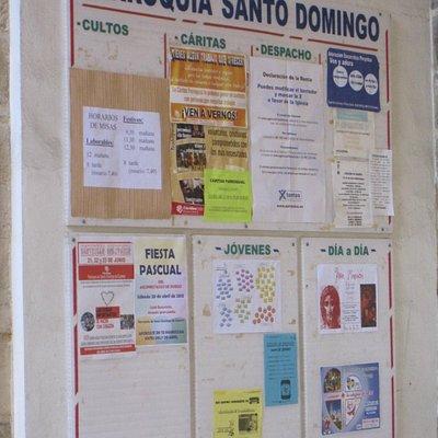 Imagen de la parroquia de Santo Domingo de Guzmán