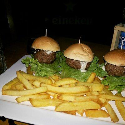 Mini Burgers de picanha