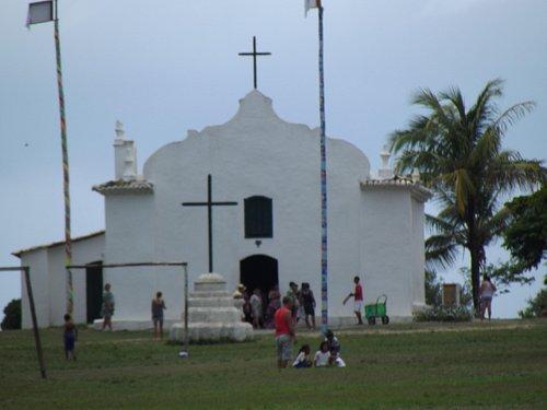 Igreja de São João Batista, Quadrado, Trancoso, Bahia