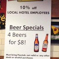 Local hotel workers bonus