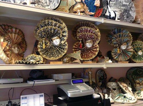 a variety of masks