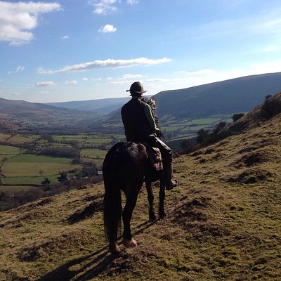 Beautiful riding in the Brecon Beacons