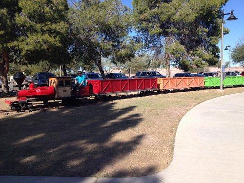 Train Ride Around Park
