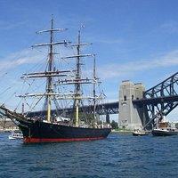 James Craig and the Harbour Bridge