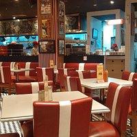 interior at TRS Diner