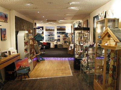 inside our shop