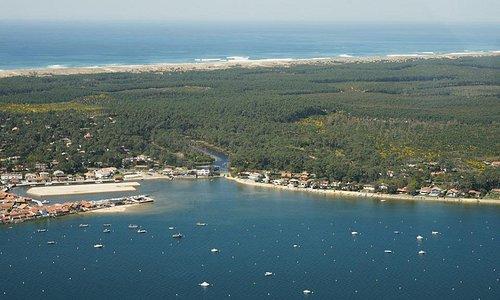 proximité port ostreicole  et océan