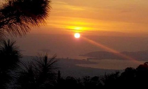 sunset from kokol hill