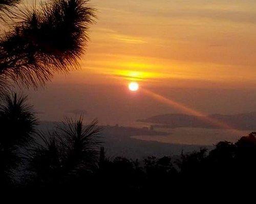 sunset from kokol hill
