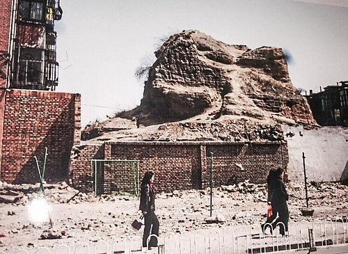 Crumbling Ruins of outer Great Wall