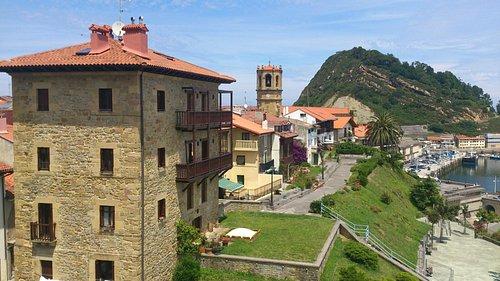 Vista desde Getaria.