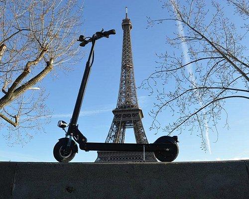 La trottinette électrique - The electric scooter - the electric step - El patinete electrico