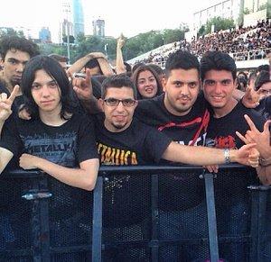 Metallica concert in itu