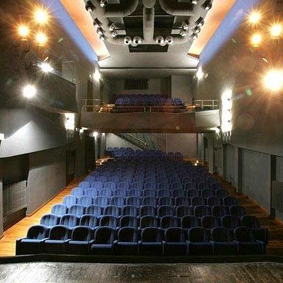La platea del Teatro de' Servi di Roma