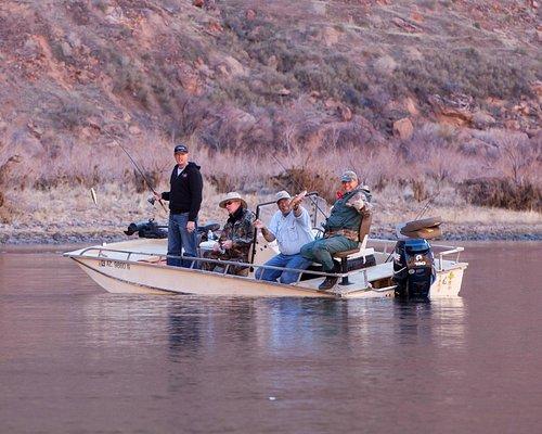 Comfortable and safe fishing platform.