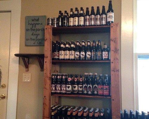 Beer everywhere !