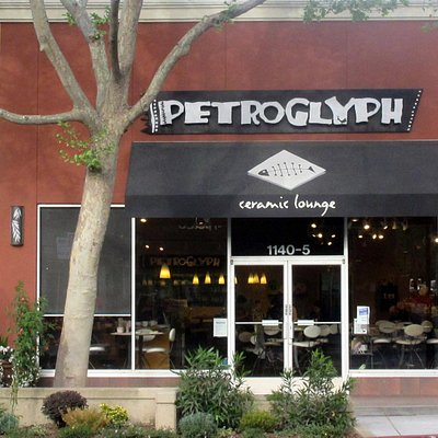 Petroglyph, Lincoln Ave, San Jose, Ca (Ceramics)