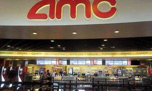 Entrance and Snack Bar Area, AMC Cupertino, Ca