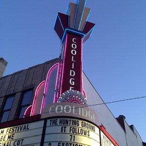 Glorious Art Deco facade on this classic community focussed cinema.