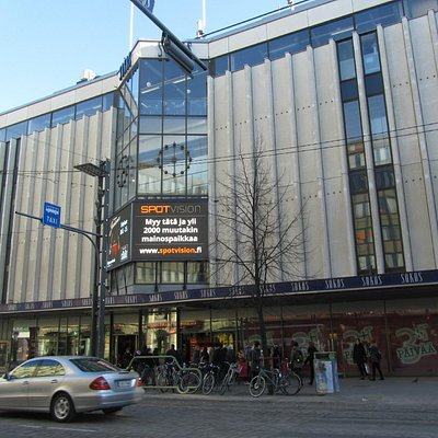 City Sokos, one of the department stores in Tampere