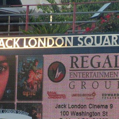 Jack London Cinema, Jack London Square, Oakland, Ca
