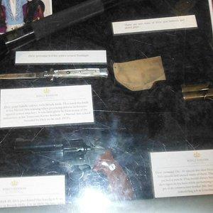Part of gun badge display