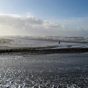 Storm ved Børsmose Strand, 11. januar 2015