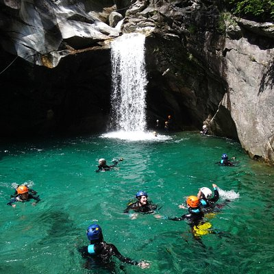Val Bodengo Canyoning Experience