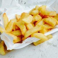 Lovely fresh chips.