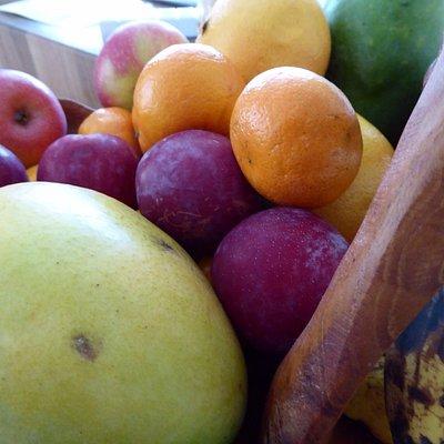 Fruit from farmers market