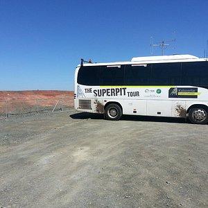 Super Pit Tour Bus
